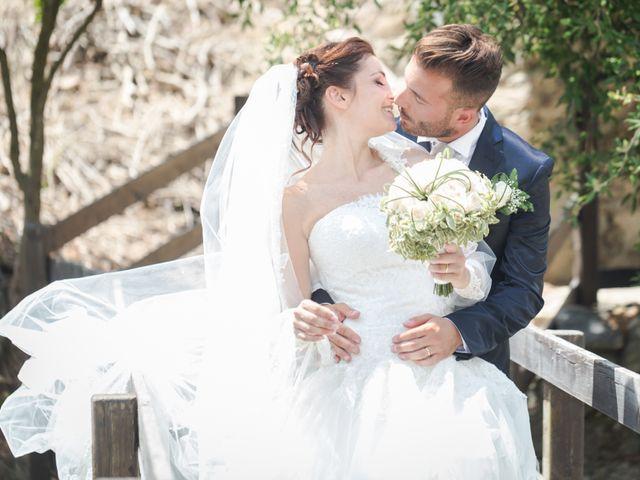 le nozze di Letizia e Sergio