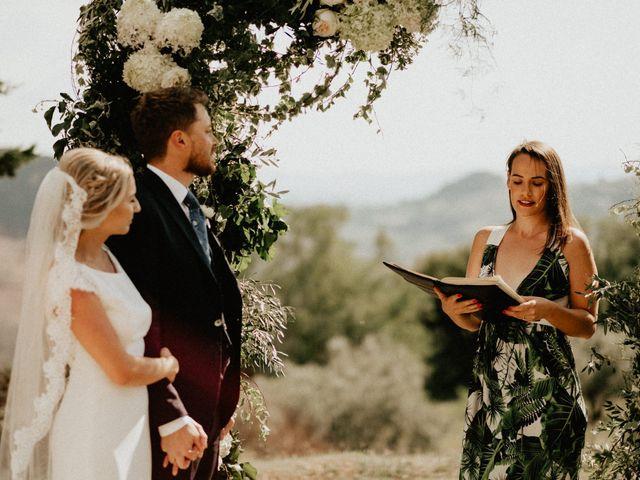 Il matrimonio di Dogue e Katie a Volterra, Pisa 42