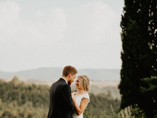 Il matrimonio di Dogue e Katie a Volterra, Pisa 70