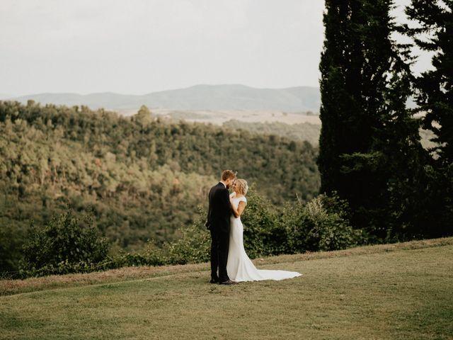 Il matrimonio di Dogue e Katie a Volterra, Pisa 71
