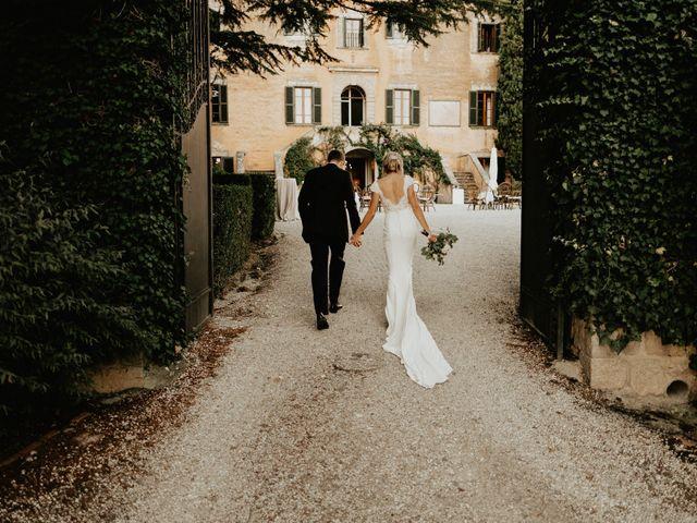 Il matrimonio di Dogue e Katie a Volterra, Pisa 79