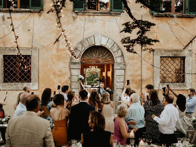 Il matrimonio di Dogue e Katie a Volterra, Pisa 81