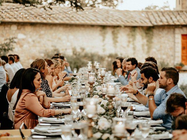 Il matrimonio di Dogue e Katie a Volterra, Pisa 82