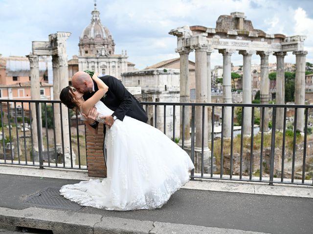 Le nozze di Fabrizio e Federica