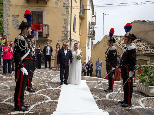 Il matrimonio di Michela e Michele a Montazzoli, Chieti 16