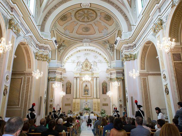 Il matrimonio di Michela e Michele a Montazzoli, Chieti 19