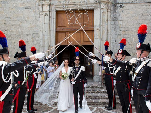 Il matrimonio di Michela e Michele a Montazzoli, Chieti 21