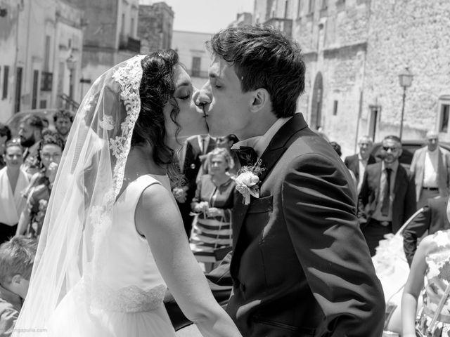 Il matrimonio di Francesco e Alessandra a Santa Cesarea Terme, Lecce 19