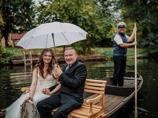 Le nozze di Cynthia e Florian 1