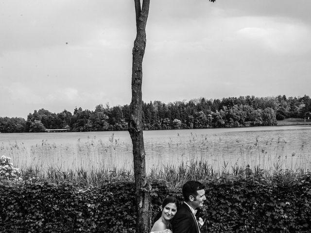 Il matrimonio di Andrea e Marta a Montorfano, Como 21