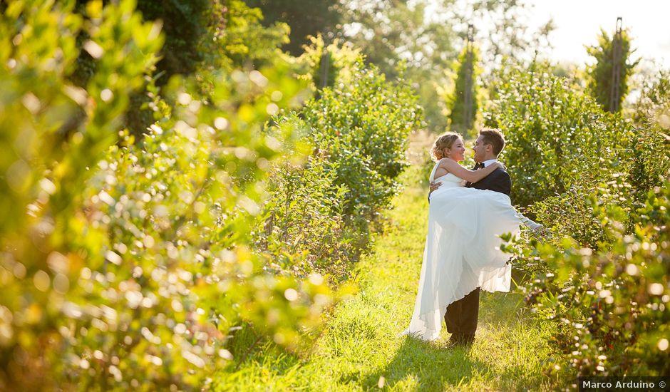 Il matrimonio di Irwin e Caroline a Viverone, Biella