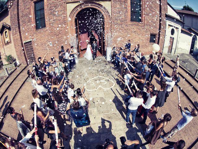 Il matrimonio di Samuele e Simona a Melegnano, Milano 43
