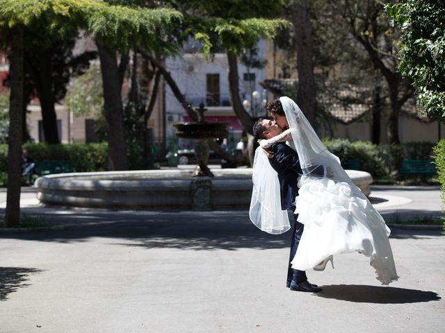 Il matrimonio di Riccardo e Maria a Genzano di Lucania, Potenza 18
