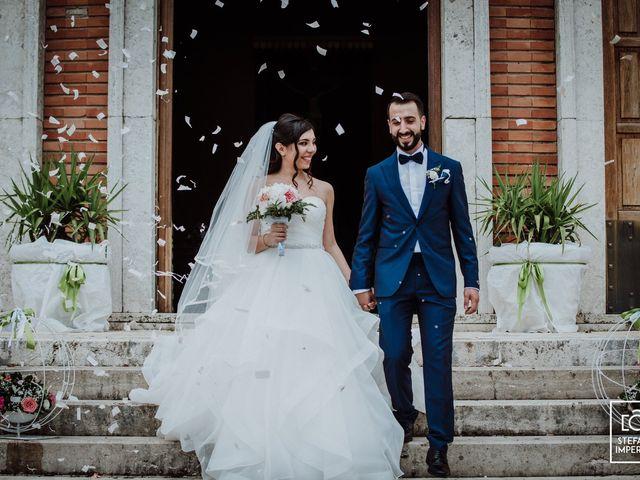 Il matrimonio di Cecilia e Amerigo a Cassino, Frosinone 11
