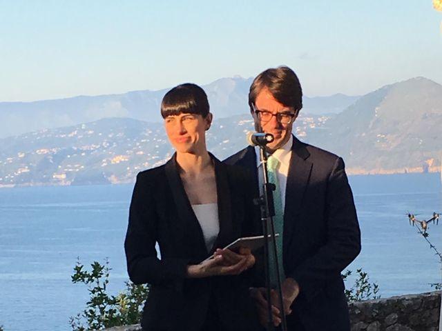Il matrimonio di Samir e Francesca a Capri, Napoli 13