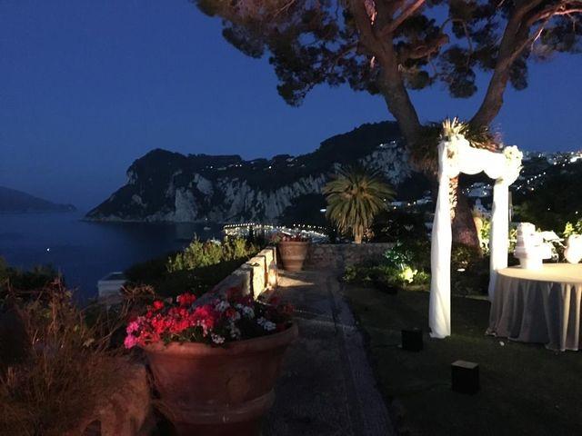 Il matrimonio di Samir e Francesca a Capri, Napoli 25