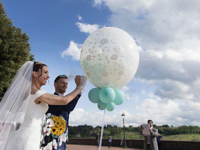 Il matrimonio di Umberto e Nancy a Rosignano Marittimo, Livorno 32