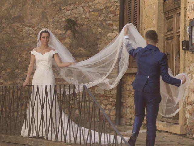 Il matrimonio di Umberto e Nancy a Rosignano Marittimo, Livorno 40