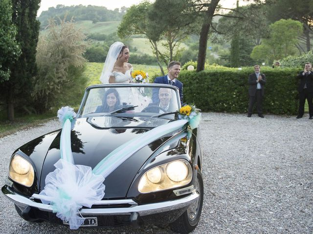 Il matrimonio di Umberto e Nancy a Rosignano Marittimo, Livorno 47