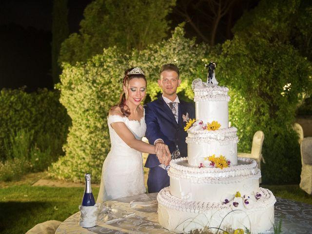 Il matrimonio di Umberto e Nancy a Rosignano Marittimo, Livorno 49