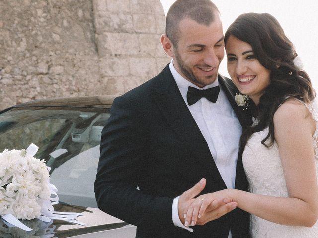 le nozze di Fabiana e Gero