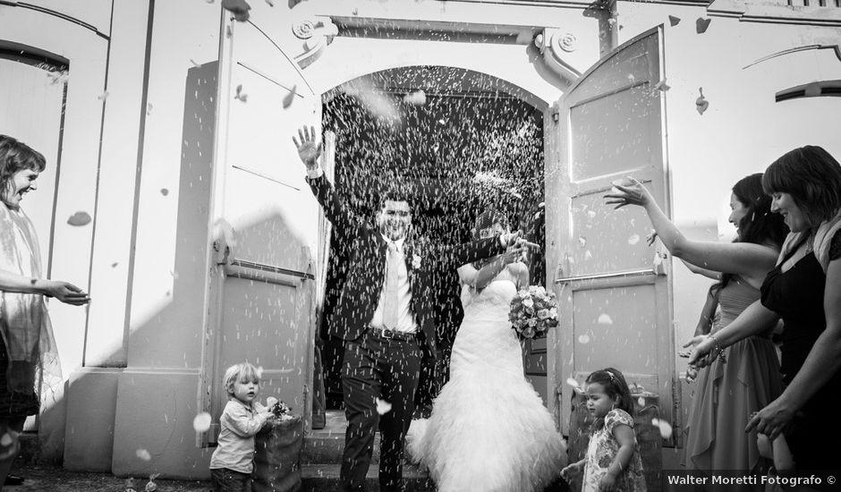 Il matrimonio di Gerti e Silvia a Lajatico, Pisa