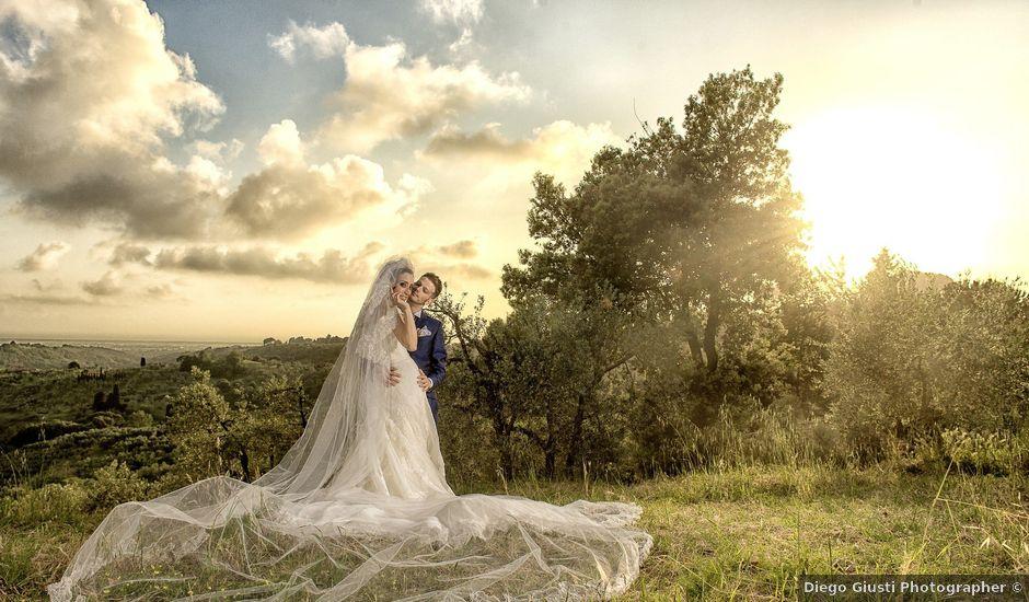 Il matrimonio di Umberto e Nancy a Rosignano Marittimo, Livorno