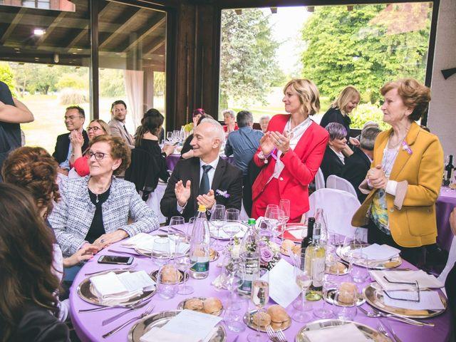 Il matrimonio di Angelo e Stefania a Gornate-Olona, Varese 116