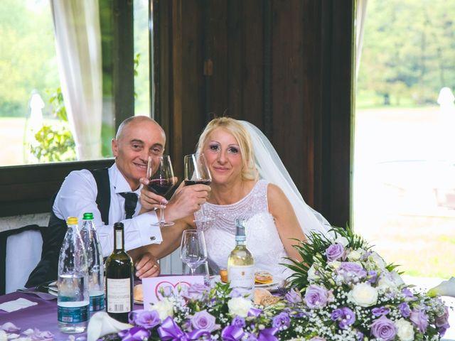 Il matrimonio di Angelo e Stefania a Gornate-Olona, Varese 119