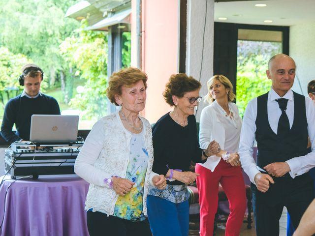 Il matrimonio di Angelo e Stefania a Gornate-Olona, Varese 143