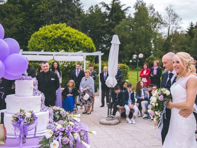 Il matrimonio di Angelo e Stefania a Gornate-Olona, Varese 183