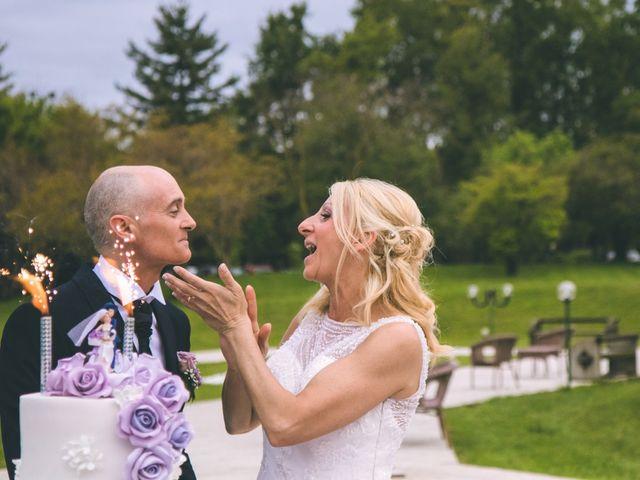 Il matrimonio di Angelo e Stefania a Gornate-Olona, Varese 192