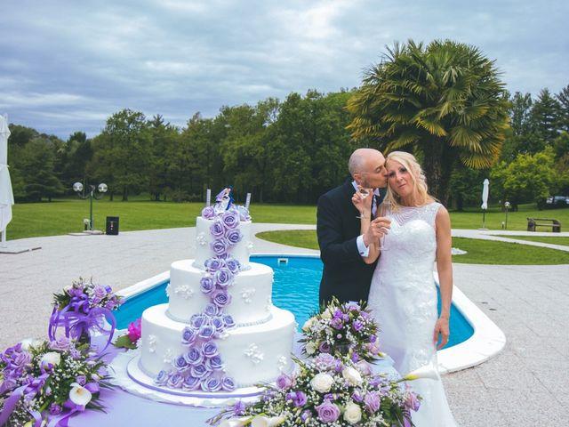 Il matrimonio di Angelo e Stefania a Gornate-Olona, Varese 197