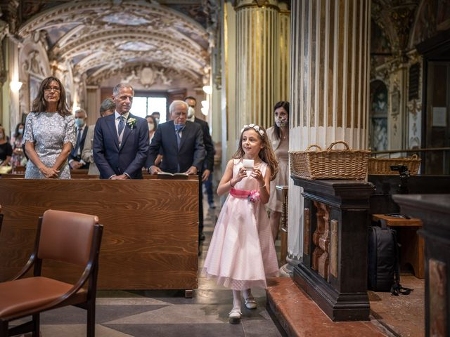 Il matrimonio di Matteo e Chiara a Varese, Varese 18