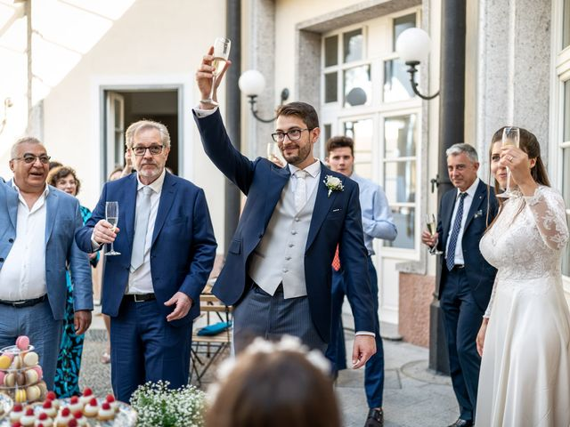 Il matrimonio di Matteo e Chiara a Varese, Varese 36