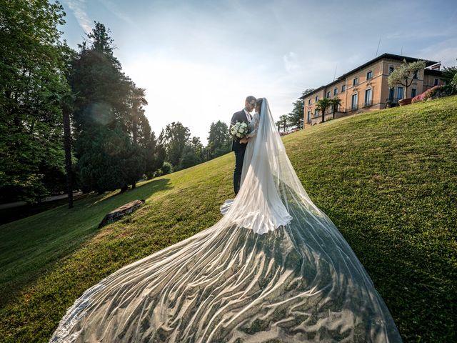 Il matrimonio di Matteo e Chiara a Varese, Varese 45