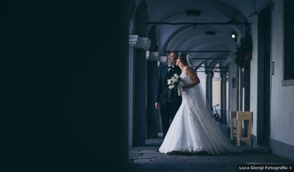 Il matrimonio di Tommaso e Giulia a Sarzana, La Spezia