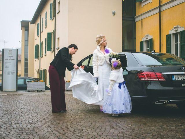 Il matrimonio di Roberto e Iryna a Cermenate, Como 48