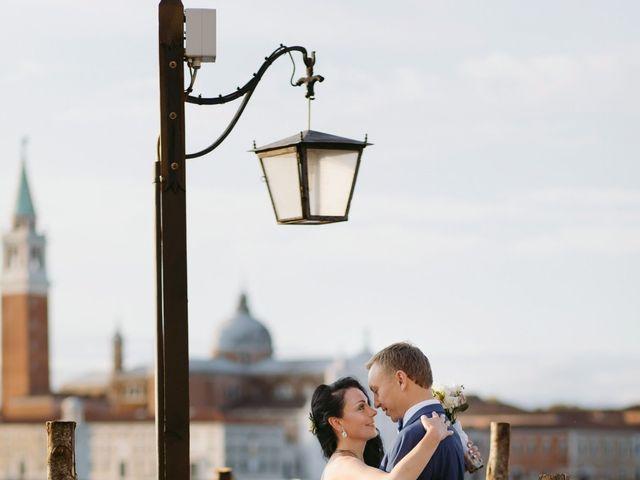 Le nozze di Oksana e Yuri