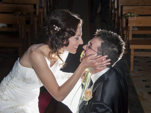 le nozze di Andrea e Benedetta