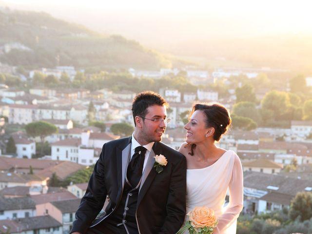 Il matrimonio di Benedetta e Andrea a Montespertoli, Firenze 20