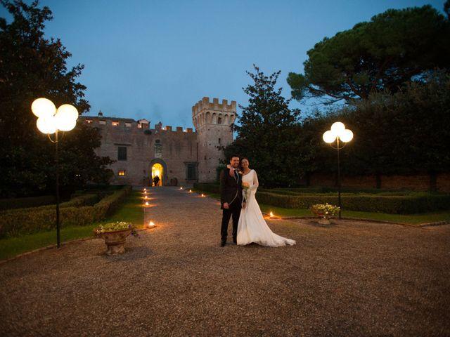 Il matrimonio di Benedetta e Andrea a Montespertoli, Firenze 37