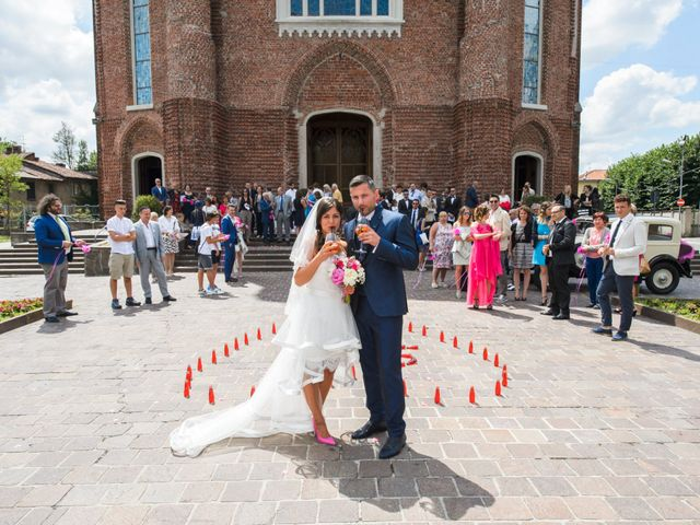 Il matrimonio di Damiano e Serena a Cesano Maderno, Monza e Brianza 28