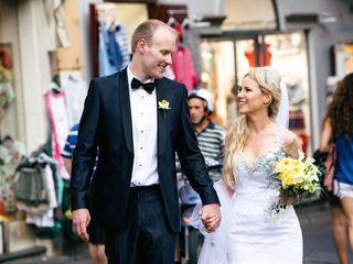 Le nozze di Orlaigh e Alan