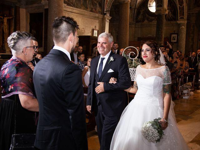 Il matrimonio di Antonello e Priscilla a Castelnuovo di Farfa, Rieti 14