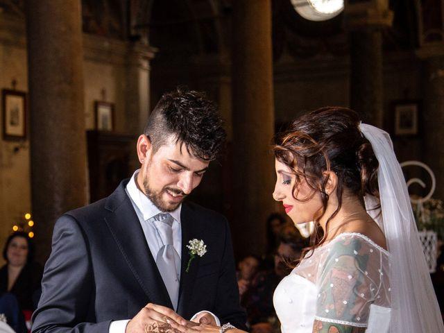 Il matrimonio di Antonello e Priscilla a Castelnuovo di Farfa, Rieti 15