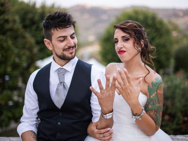 Il matrimonio di Antonello e Priscilla a Castelnuovo di Farfa, Rieti 25
