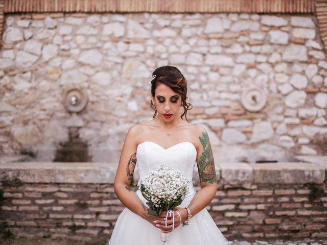 Il matrimonio di Antonello e Priscilla a Castelnuovo di Farfa, Rieti 27