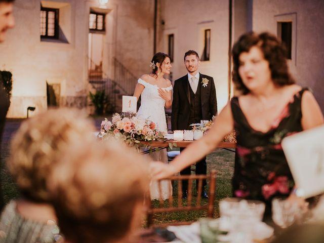 Il matrimonio di Francesco e Monica a Gallese, Viterbo 53