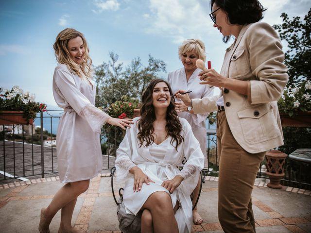 Il matrimonio di Nadia e Nino a Amalfi, Salerno 3